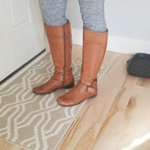 Nine West Wide Calf Riding Boots